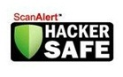 scan alert hacker safe logo