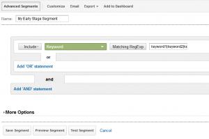 example screenshot from google analytics